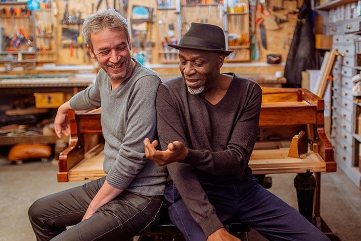 Laurent de Wilde et Ray Lema